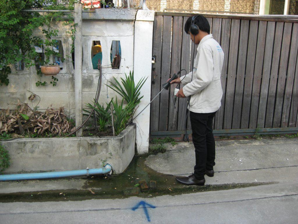 pipeline leakage survey project